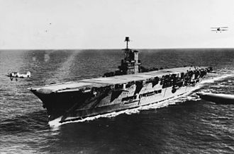 HMS Ark Royal (91) - Ark Royal conducting flying operations in 1939