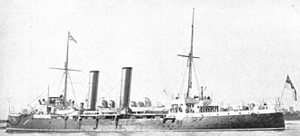 HMS Brilliant (1891) - Image: HMS Brilliant (1891)