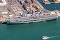 HMS Illustrious along side in Portsmouth Naval Base. MOD 45144951.jpg
