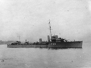 V class destroyer flotilla leader, built in 1917