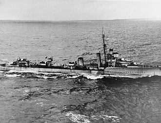 HMS Vesper - HMS Vesper (D55)