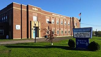 Hodgdon, Maine - Present Day Hodgdon Middle/High School.