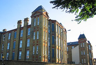 Homerton - Hackney Hospital, August 2005. Marc Bolan (born, Mark Feld), and Anthony Newley were both born here.
