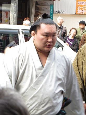 2015 in sumo - Hakuhō won his sixth straight championship in March.