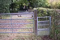Half gate near Toy's Hill - geograph.org.uk - 1536508.jpg
