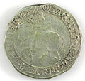Halfcrown of Charles I - Counterfeit (YORYM-1995.109.14) obverse.jpg