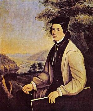 Théophile Hamel - Théophile Hamel, self-portrait c. 1837