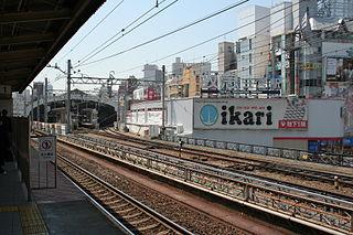 Kobe-Sannomiya Station Railway and metro station in Kobe, Japan