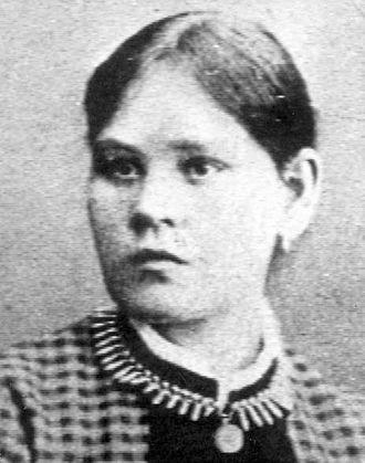 Yngsjö murder - Image: Hanna Johansdotter (1867 1889)