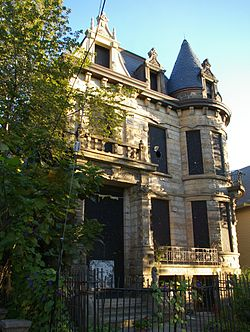 Franklin Castle In Cleaveland S Ohio City
