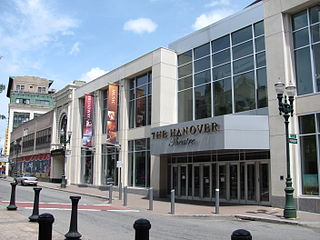 Hanover Theatre for the Performing Arts theater in Worcester, Massachusetts, United States