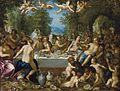 Hans Rottenhammer - Götterfest, Hochzeit von Bacchus und Ariadne (1602).jpg