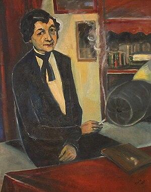Emmendingen - Harriet Straub 1930 by Waldemar Flaig