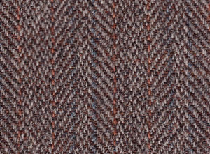 Tweed (cloth) - Harris Tweed woven in a herringbone twill pattern, mid-20th century