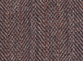Tweed Rough, unfinished woollen fabric, of a soft, open texture