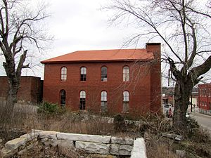 Trousdale County, Tennessee - The old Methodist Church building in Hartsville