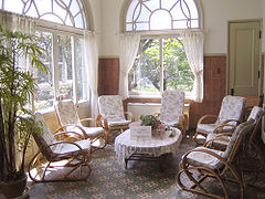 Boho Farmhouse Sunroom