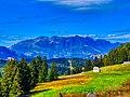 Haute-Savoie Anfahrt von Servoz zum Lac de Roselend 4.jpg