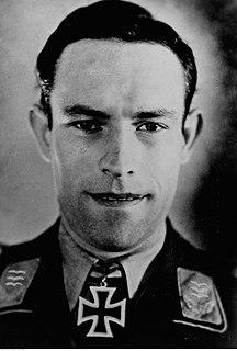Heinrich Ehrler German World War II flying ace