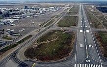 Το αεροδρόμιο του Ελσίνκι.