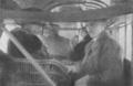 Henri Farman en zijn echtgenote in de cabine van de Goliath F60. Fotoarchief Frans Van Humbeek.png