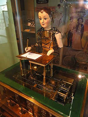 """Maillardet's automaton - The """"Draughtsman-Writer"""" automaton by Henri Maillardet"""