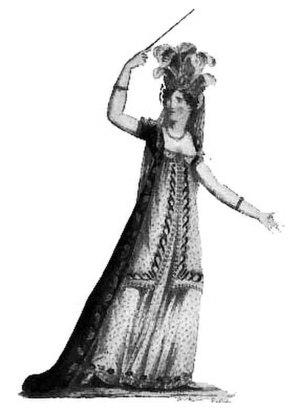 Henriette Widerberg - Henriette Widerberg in Armide (1823).