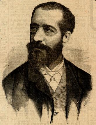 Henry de Pène - Henry de Pène (published in Diário Illustrado (February 21, 1888)