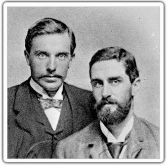 Roger Casement - Roger Casement (R) and his friend Herbert Ward, whom he met in the Congo Free State.