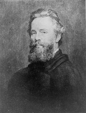 English: Etching of Joseph O. Eaton's portrait...