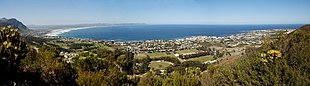 Panoramic view of Hermanus