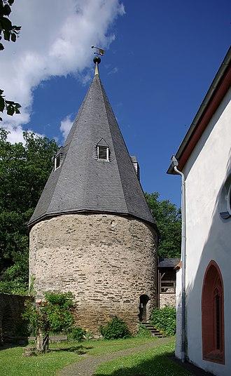 Herrstein - Castle Herrstein monumental zone: Stumpfer Turm