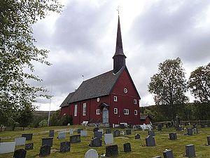 Hessdalen Church - Image: Hessdalen kirke (01)