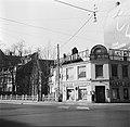 Het gebouw van het smørrebrød restaurant annex wijnhandel van Oskar Davidsen, Bestanddeelnr 252-9026.jpg
