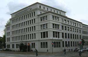 Wandsbek - Stormarnhaus in Wandsbek Local office of the borough