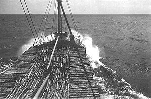 The Thekla - Thekla in high seas