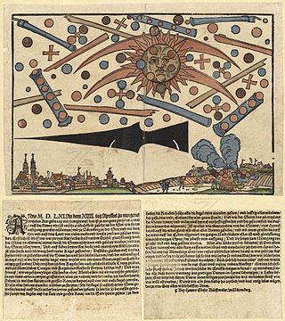 1561 celestial phenomenon over Nuremberg