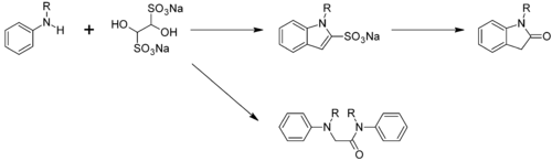 Hinsberg-oxindoolsynthese