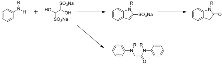 Hinsberg indole synthesis
