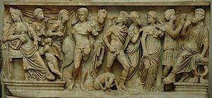 Phèdre - Phaedra and Hippolytus, c. 290 AD