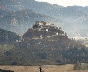 Hochosterwitz Castle - General view