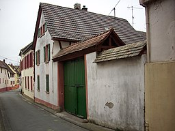 Enggasse in Bodenheim