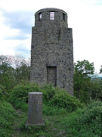 Adenau - The Wilhem Tower on the Hohe Acht