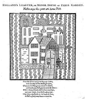 Holland's Leguer - Holland's Leaguer or Manor House of Paris Garden