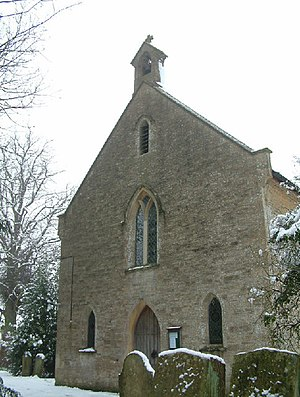 Finstock - Image: Holy Trinity Church, Finstock geograph.org.uk 7115