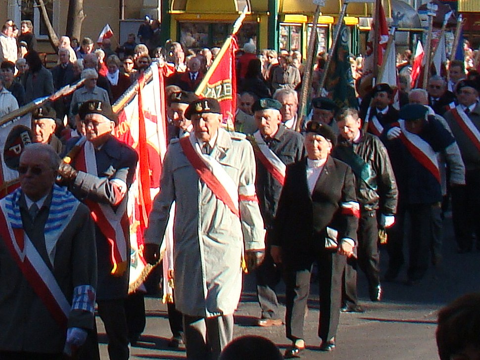 Home Army Members 11 Nov. 2008 Sanok