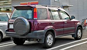 Honda CR-V - Honda CR-V (Japan)