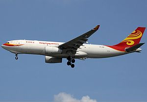 Hong Kong Airlines Cargo Airbus A330-243F Spijkers.jpg