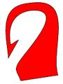 Horog (heraldika) fr -- croc d'hameçon.PNG
