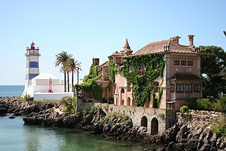 Cascais - Saint Martha's Lighthouse and the House of Saint Mary (Casa de Santa Maria)